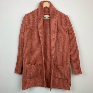 Ann Taylor LOFT Chunky Knit Cardigan Sweater